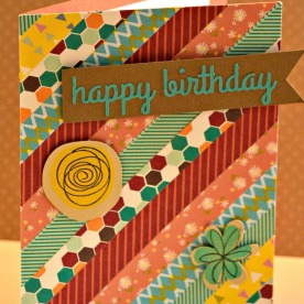 Birthday Stripped Background