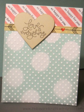 Love is Everything Wedding Card