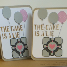 Portal Birthday Card