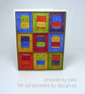 Pop art card
